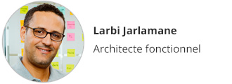 Larbi Jarlamane, Architecte fonctionnel
