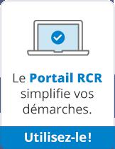 Le nouveau Portail RCR simplifie vos démarches. Découvrez-le!